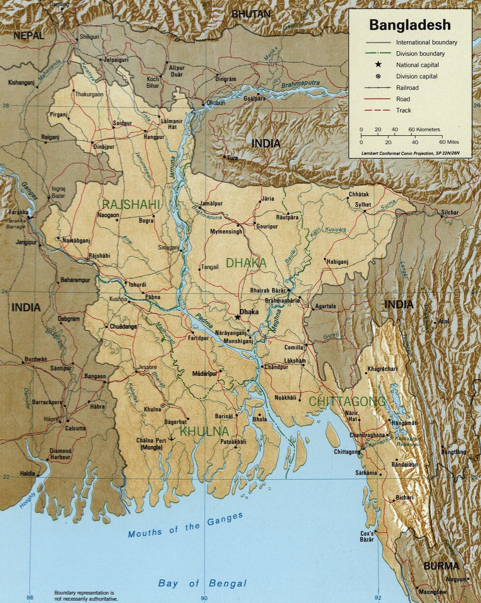 Rivers in Bangladesh