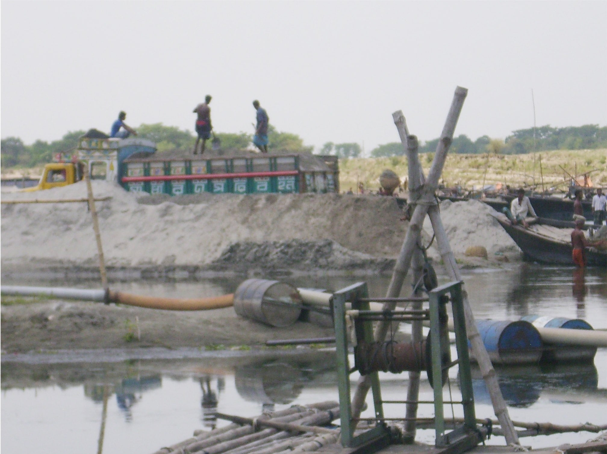 Sand Lifting in Mymensingh