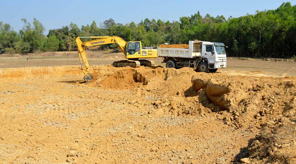 Bandarban soil excavation
